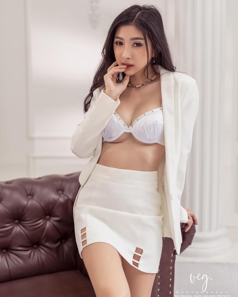 Thailand Sexy Model - Pattamaporn Keawkum - Sexy Elegant Secretary - TruePic.net