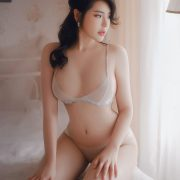 Vietnamese Model - Beautiful Girl in Sexy Transparent White Lingerie - TruePic.net