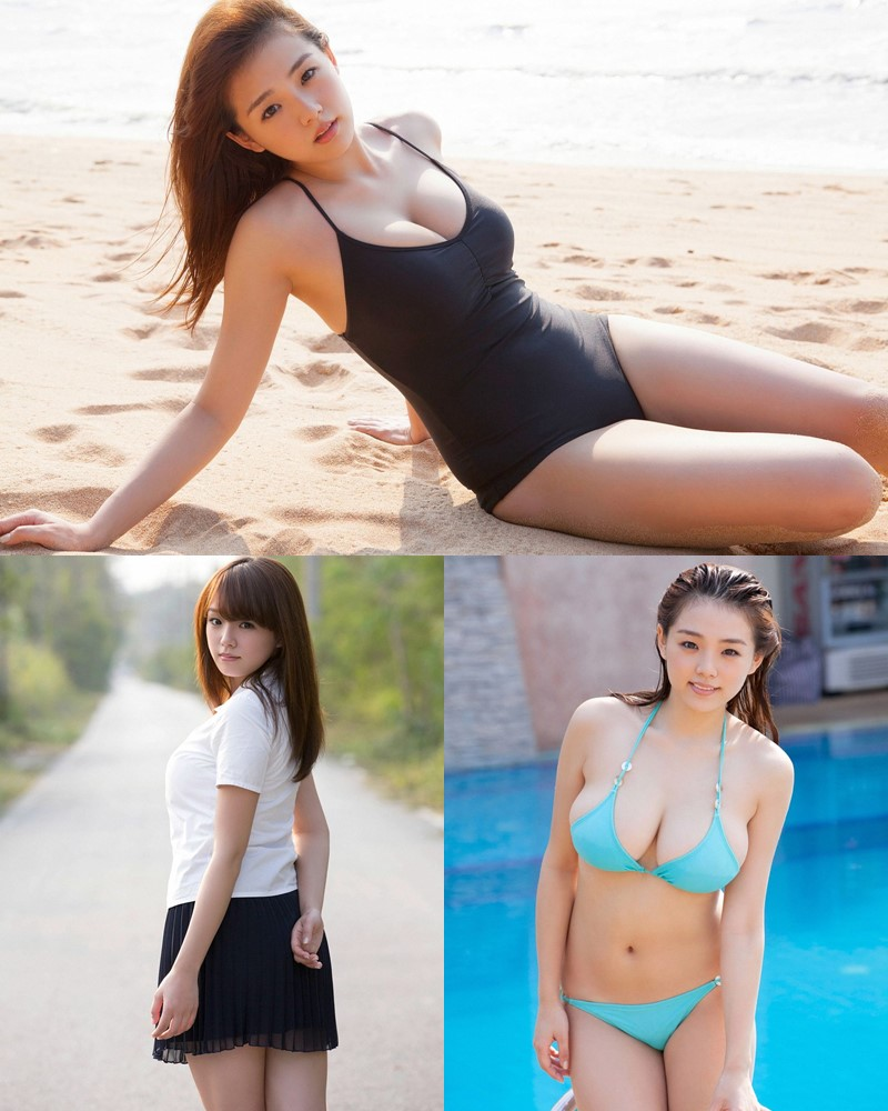 [YS Web] Vol.560 - Japanese Gravure Idol and Singer - Ai Shinozaki - TruePic.net