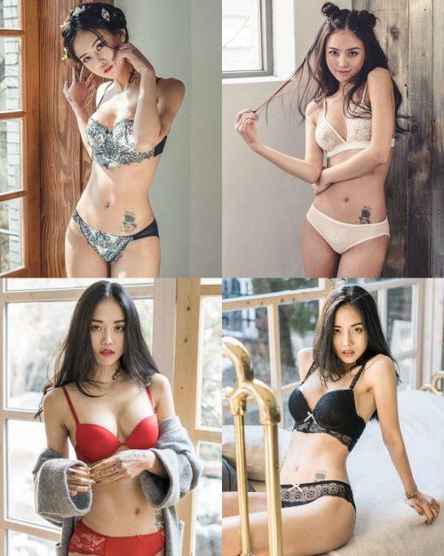 Korean Fashion Model – Baek Ye Jin – Sexy Lingerie Collection #7 - TruePic.net