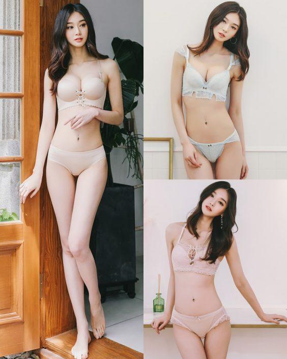 Korean Fashion Model - Carmen - Newday Lingerie Set - TruePic.net
