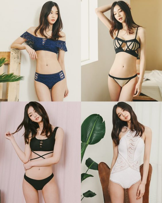 Korean Fashion Model - Carmen - Sexy Beachwear For Summer Vacation - TruePic.net