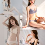 Korean Fashion Model - Kim Hee Jeong - Lingerie Gift for You - TruePic.net