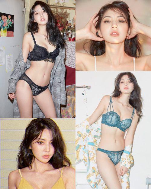 Korean Fashion Model - Lee Chae Eun (이채은) - Come On Vincent Lingerie #1 - TruePic.net