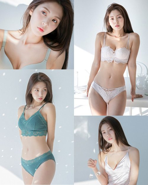 Korean Fashion Model - Lee Chae Eun (이채은) - Come On Vincent Lingerie #2 - TruePic.net