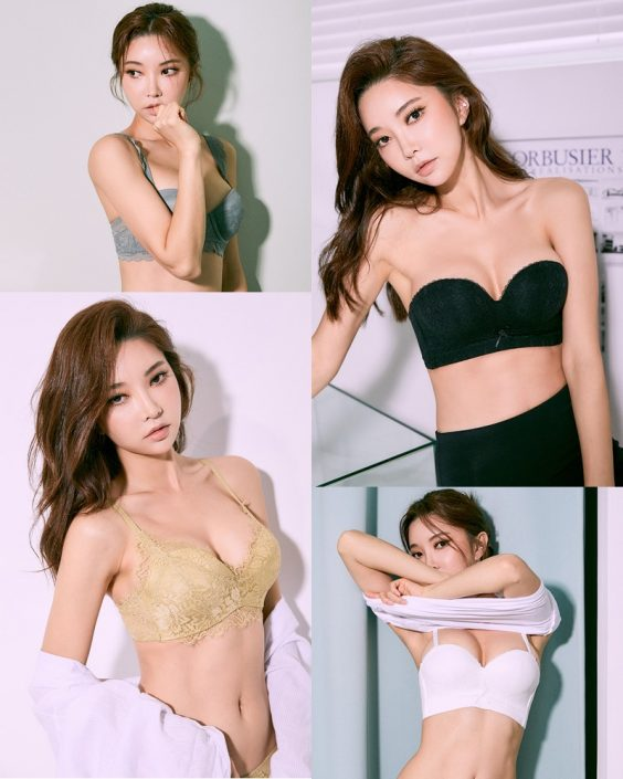 Korean Fashion Model – Park Soo Yeon (박수연) – Come On Vincent Lingerie #1 - TruePic.net