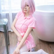 MTCos 喵糖映画 Vol.033 – Chinese Cute Model - Pink Nurse Cosplay - TruePic.net