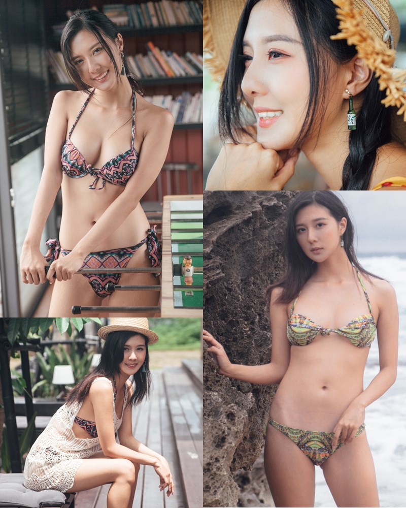Taiwanese Model - 郁晴 - Welcome Summer with Beautiful Bikini Girls - TruePic.net