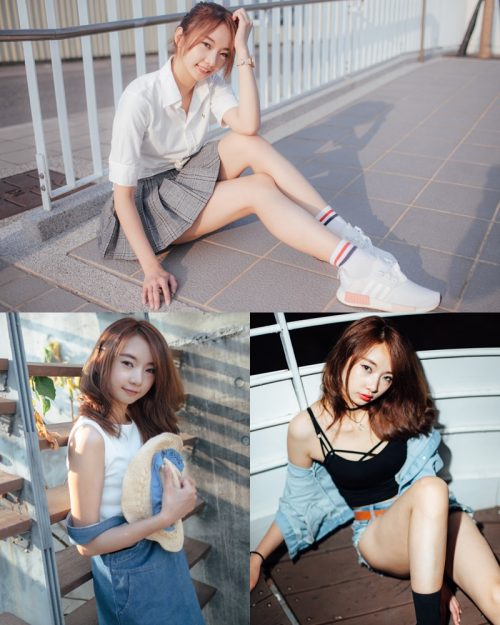 Taiwansese Model - Yobo - Summer Vacation of Cute Student Girl - TruePic.net