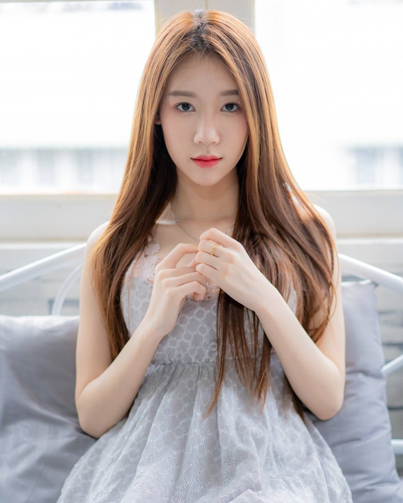 Thailand Cute Model - Carolis Mok - Morning Cutie Girl - TruePic.net