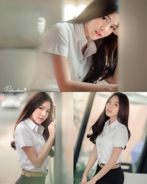 Thailand Model - Phitchamol Srijantanet - Good Morning Teacher - TruePic.net