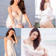 Thailand Model - Rungsiya Chuanchom - White Sexy Girl and The Beach - TruePic.net