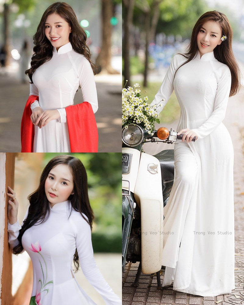 The Beauty of Vietnamese Girls with Traditional Dress (Ao Dai) #1 - TruePic.net