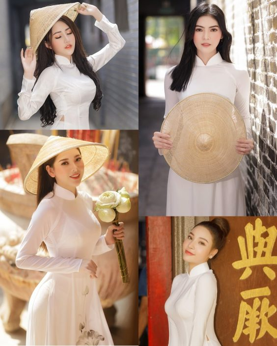 The Beauty of Vietnamese Girls with Traditional Dress (Ao Dai) #2 - TruePic.net