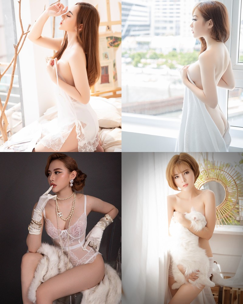 Vietnamese Model – Hot Beautiful Girls In White Collection #2 - TruePic.net