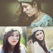 Vietnamese Model - How To Beautiful Angel Become An Painter - TruePic.net