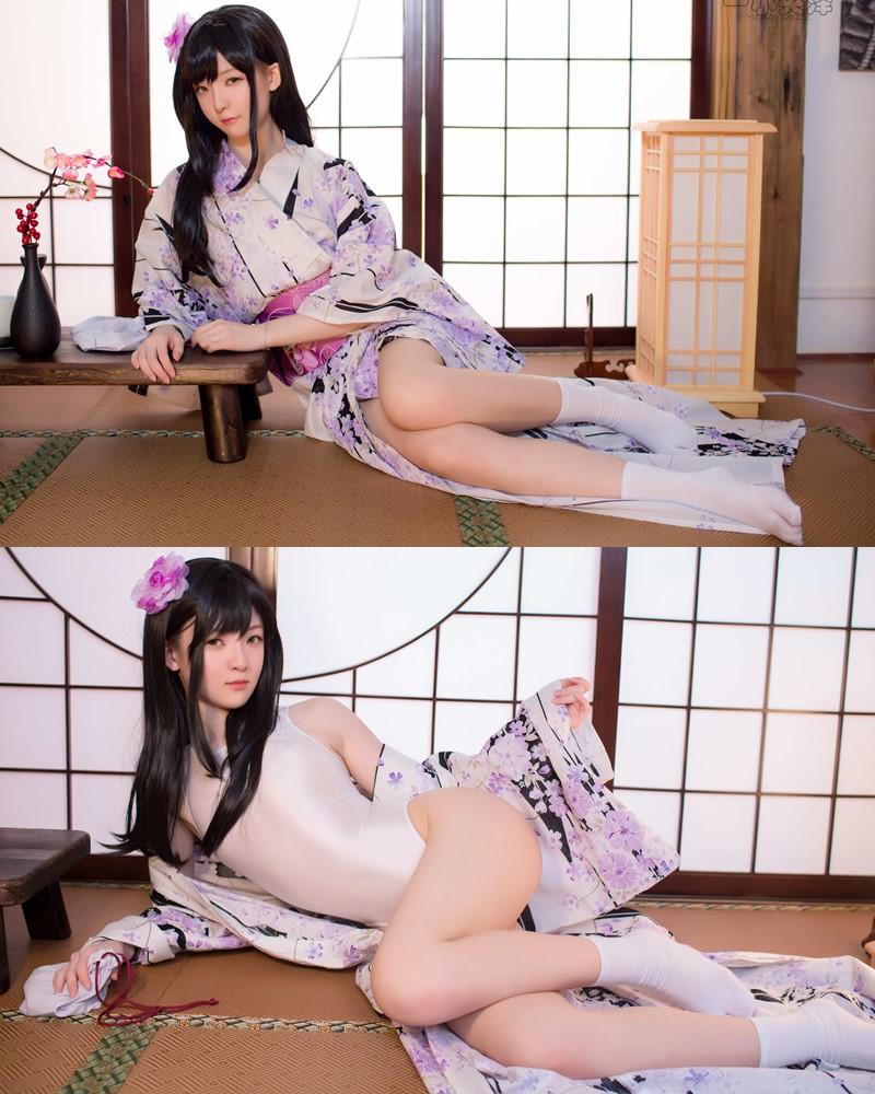 Coser@一小央泽 (yixiaoyangze) - Chinese Cute Model - Sexy Kendo Girl - TruePic.net