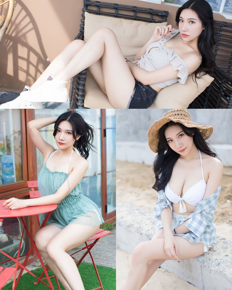 IMISS Vol.182 – Chinese Model Xiao Hu Li (小狐狸Sica) – Beachwear Fashion - TruePic.net