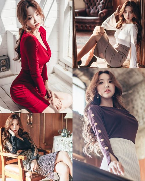 Korean Beautiful Model – Park Soo Yeon – Fashion Photography #10