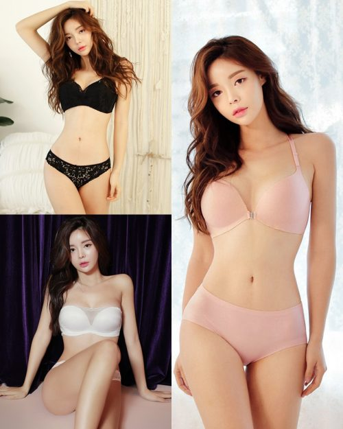 Korean Fashion Model – Jin Hee – Sexy Lingerie Collection #3 - TruePic.net
