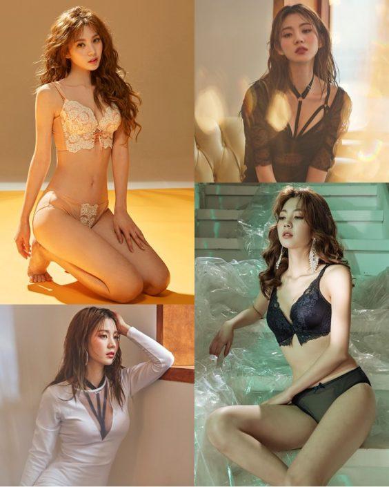 Korean Fashion Model – Lee Chae Eun (이채은) – Come On Vincent Lingerie #7 - TruePic.net