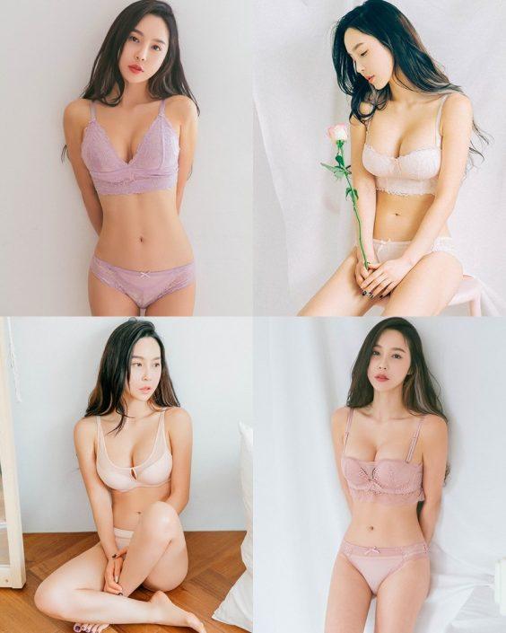Lee Ji Na - Korean Fashion Model – Sexy Lingerie Collection #1 - TruePic.net