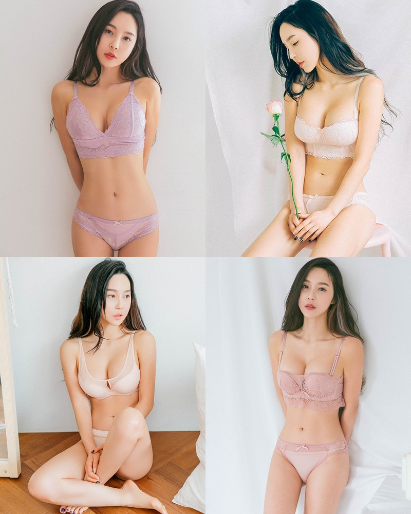 Lee Ji Na - Korean Fashion Model – Sexy Lingerie Collection #1 - TruePic.net