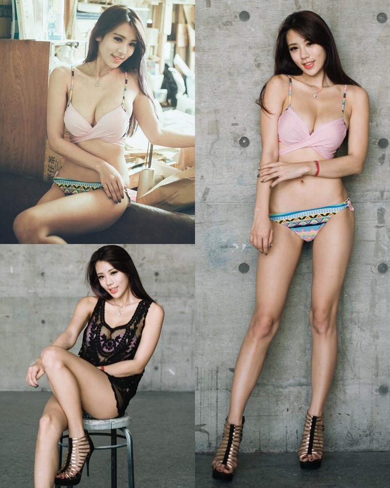 Taiwanese Model - 魏曼曼 (Amanda) - Bikini In The Room - TruePic.net