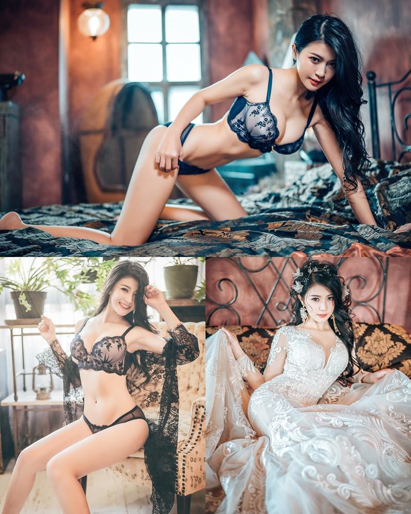 Taiwanese Model – 珈伊Femi - Mischievous Sexy and Beautiful Bride - TruePic.net