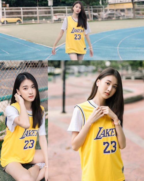 Thailand Beautiful Girl - View Benyapa - Long Hair Sport Girl - TruePic.net