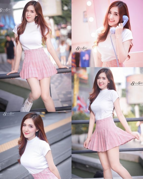 Thailand Model - Jarunya Boonya - Pink Love Love Love - TruePic.net