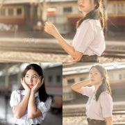 Thailand Model - Kornrawee Chokejindachai - Cute Student Girl - TruePic.net