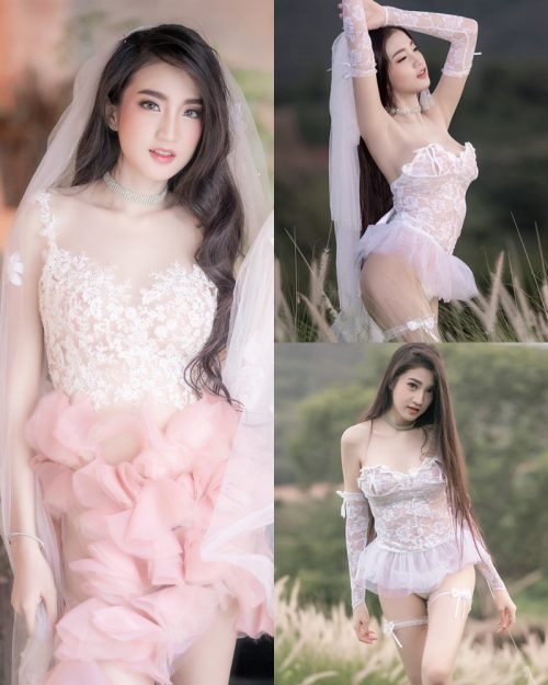 Thailand Model - Minggomut Maming Kongsawas - Beautiful Bride Concept - TruePic.net
