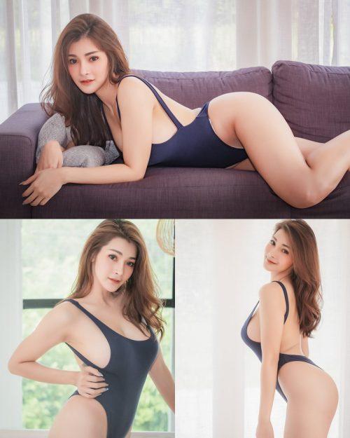 Thailand Model - Porntapawee Sripreserth - Concept Sexy One Piece - TruePic.net
