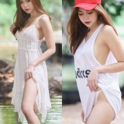 Thailand Model - Sirirut Thananet - Beautiful Angel and Small Stream - TruePic.net