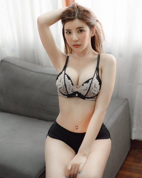 Thailand Model - Supitcha Boonkumphoung - Home Alone? Lingerie - TruePic.net
