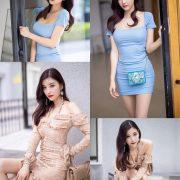 XiaoYu Vol.317 - Chinese Model - Yang Chen Chen (杨晨晨sugar) - Walking Street with Bodycon Dress - TruePic.net