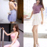 XiaoYu Vol.344 - Chinese Model Booty (芝芝) - Dress Streetwear and Fitness Set - TruePic.net