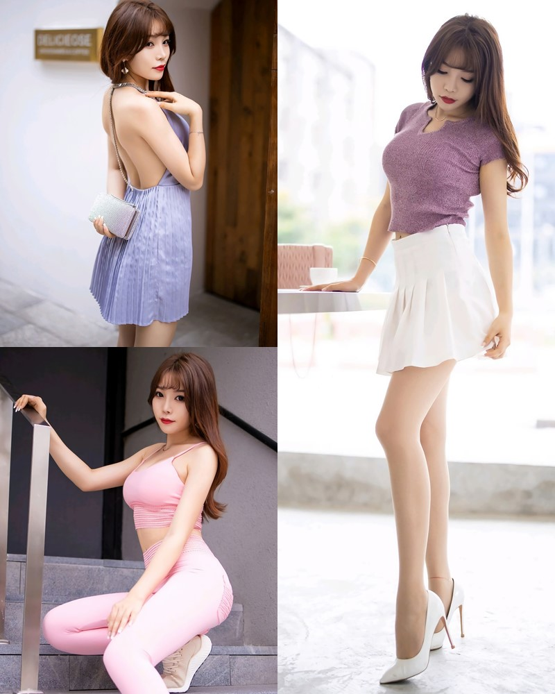 XiaoYu Vol.344 - Chinese Model Booty (芝芝) - Dress Streetwear and Fitness Set - TruePic.net