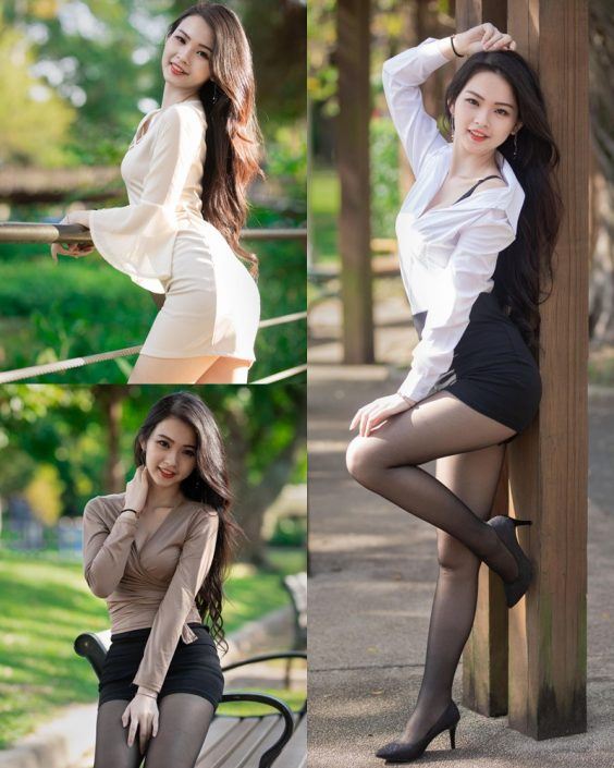 Taiwanese Model - 杨宓凌 - Concept The Office Girl - TruePic.net