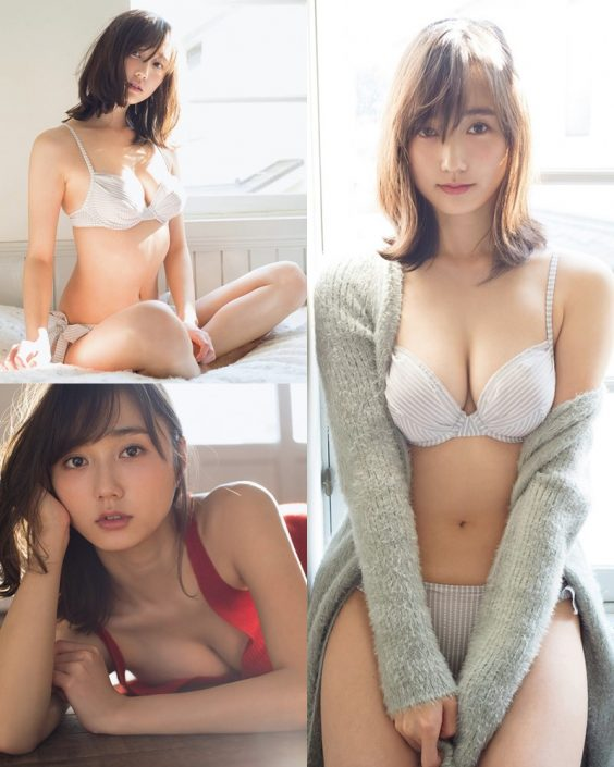Japanese Model and Actress - Yuuna Suzuki (鈴木友菜) - Sexy Picture Collection 2020 - TruePic.net