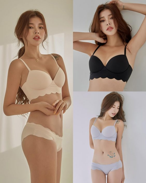Korean Fashion Model – Da Yomi (다요미) – Lountess Spring Lingerie #2 - TruePic.net