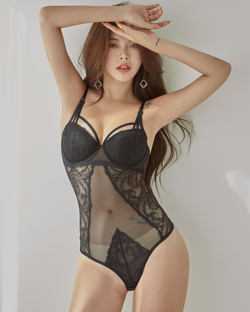 Korean Fashion Model – Da Yomi (다요미) – Lountess Spring Lingerie #3 - TruePic.net