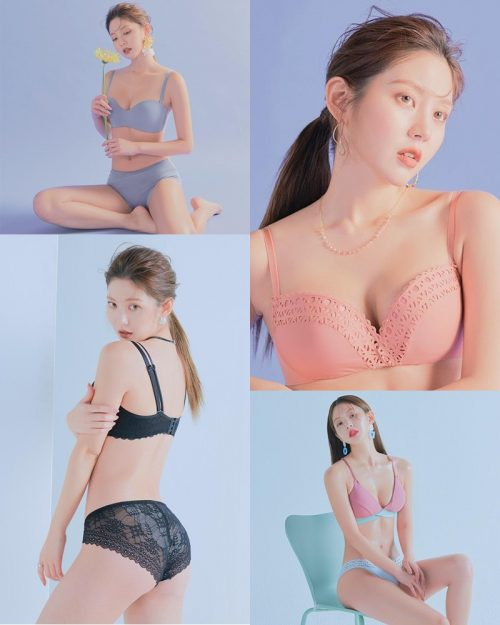 Korean Fashion Model – Lee Chae Eun (이채은) – Come On Vincent Lingerie #8 - TruePic.net