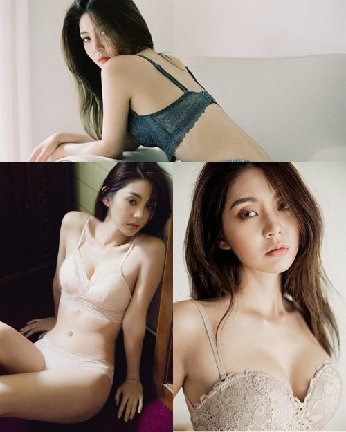 Korean Fashion Model – Lee Chae Eun (이채은) – Come On Vincent Lingerie #9 - TruePic.net