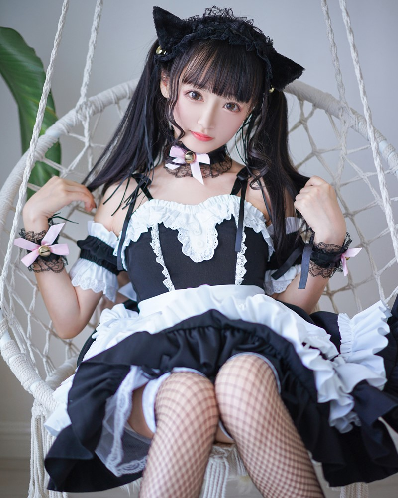 [MTCos] 喵糖映画 Vol.051 - Chinese Cute Model - Lovely Maid Cat - TruePic.net