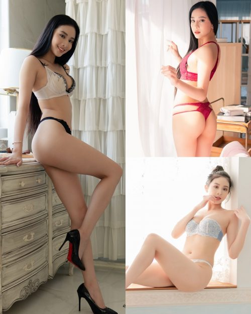 Taiwanese Sexy Model - Jessie - My Colors Lingerie - TruePic.net