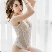 Thailand Hot Beauty Model - Thipsuda Jitaree - White Lace Underwear - TruePic.net