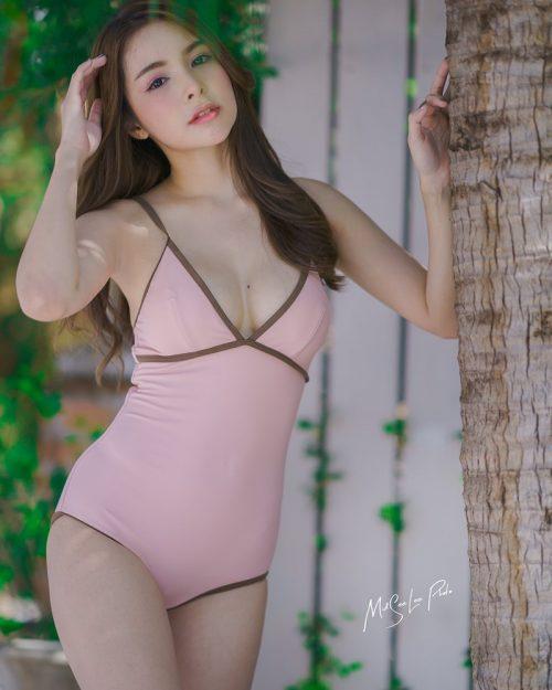 Thailand Model - Soithip Palwongpaisal - Sexy and Cute Monokini - TruePic.net