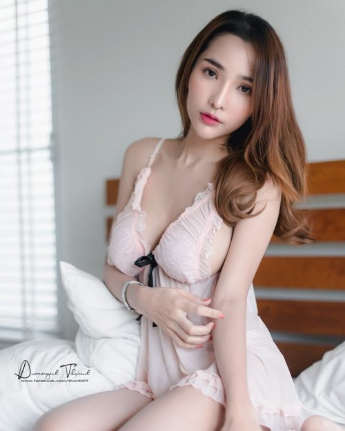 Thailand Model - Thanyalak Phantan - Cherry Pink Love - TruePic.net